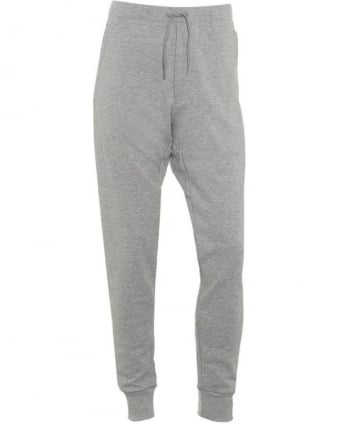 Mens Track Pants Heather Grey Tracksuit Bottoms