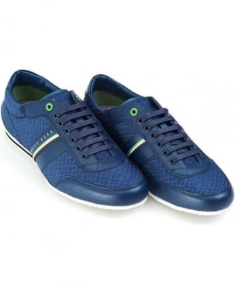 Mens Trainers, Victual Dark Blue Trainer