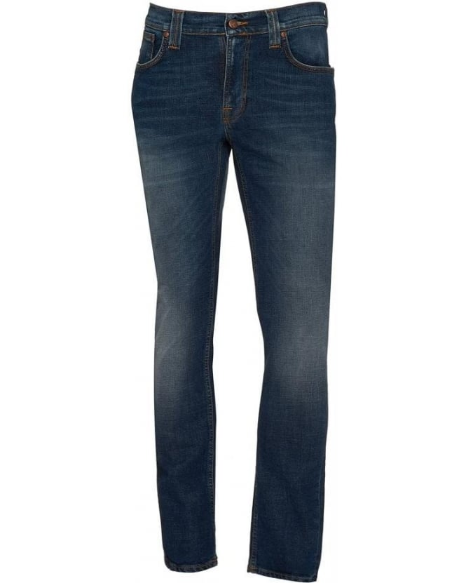 Nudie Jeans Mid Cross Thin Finn Comfort Stretch Jeans
