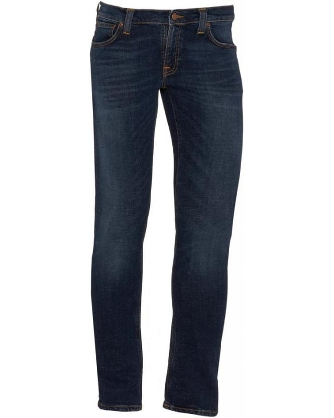 Nudie Jeans Mid Whisker Tight Long John Jeans