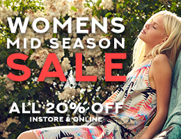 Womenswear Mid Season Sale