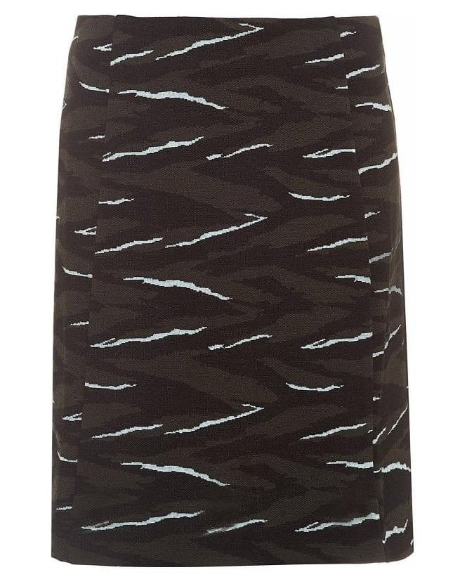 I Blues Naraghe Camouflage Print Skirt