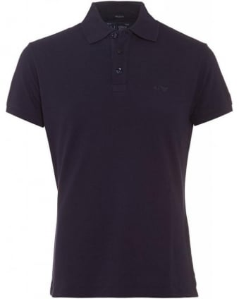 Navy Blue Polo Shirt, Muscle Fit Polo