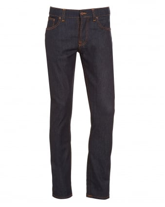 Mens Grim Tim, Dry Open Indigo Organic Stretch Denim