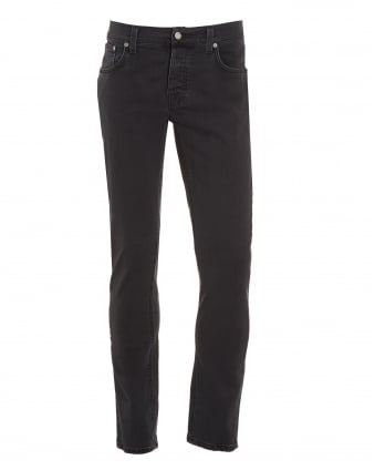 Mens Grim Tim Jean, Misty Ridge Dark Grey Organic Stretch Denim