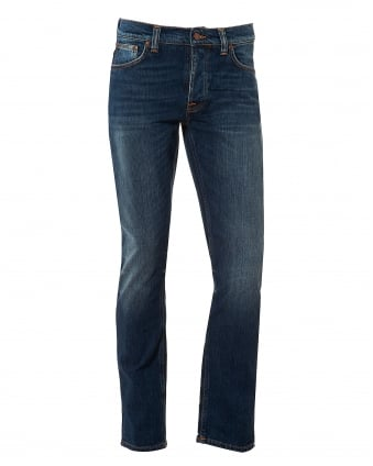 Mens Grim Tim Jeans, Sublime Worn Wash Denim