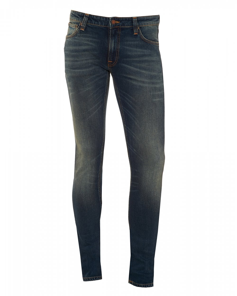 80f4618a1deb Nudie Jeans Mens Skinny Lin Cold Blues Jeans