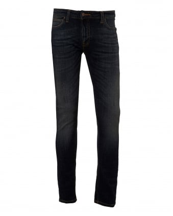 Mens Skinny Lin Jeans, Skinny Fit Dark Vint Denim