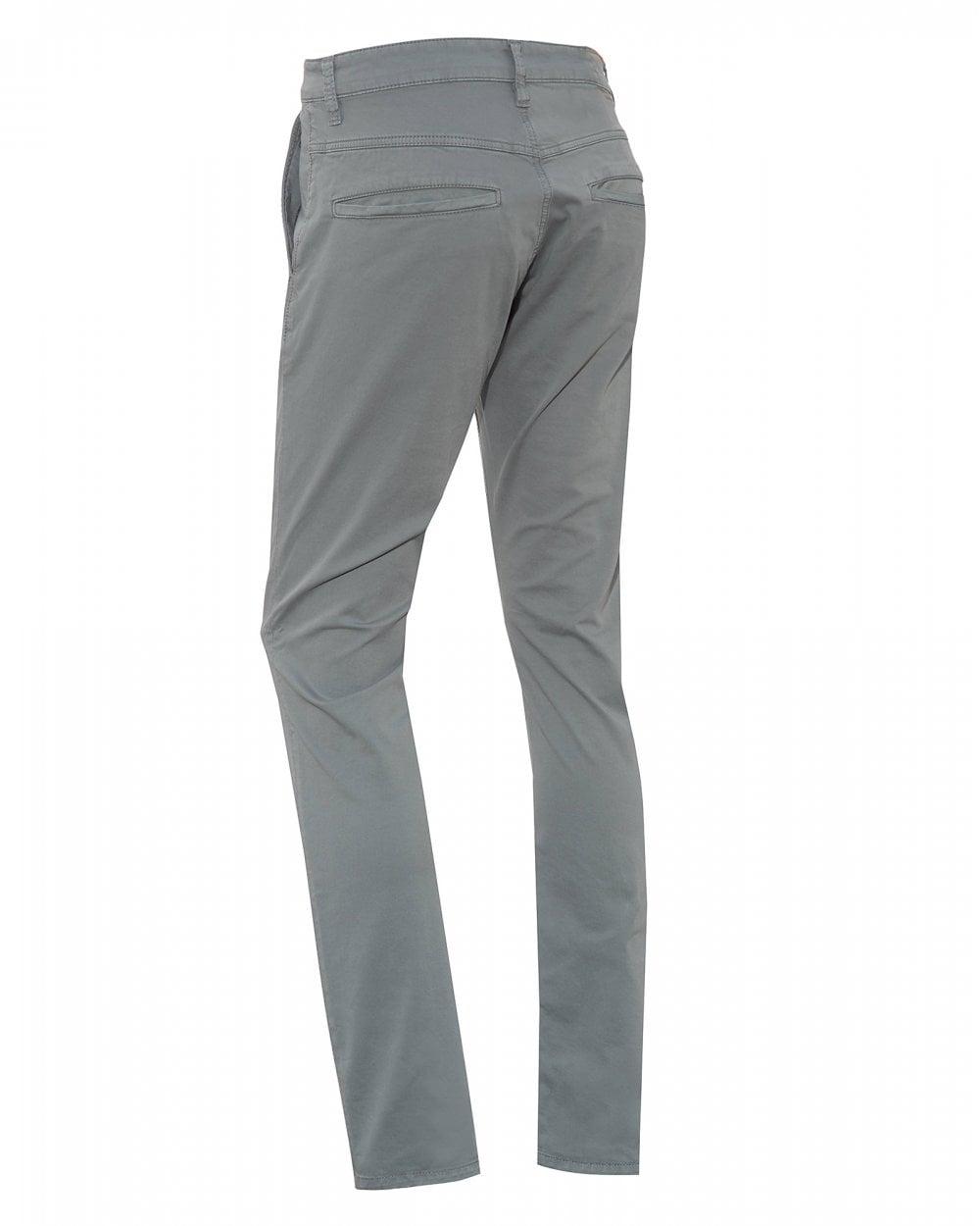 d4fe9c42501 Nudie Jeans Mens Slim Adam Chinos, Ash Grey Trousers