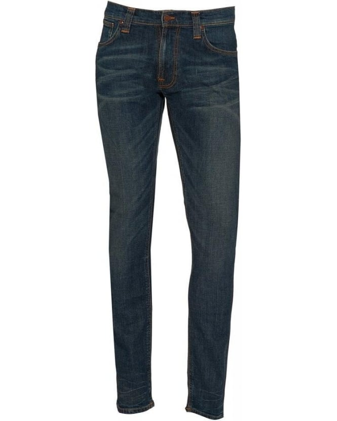Nudie Jeans Mid Vintage Thin Finn Comfort Stretch Jeans
