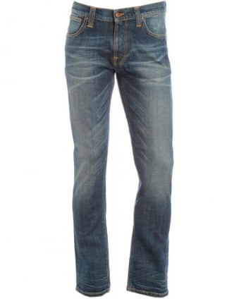 Thin Finn Whisk Vintage Dusk Indigo Slim Fit Jeans