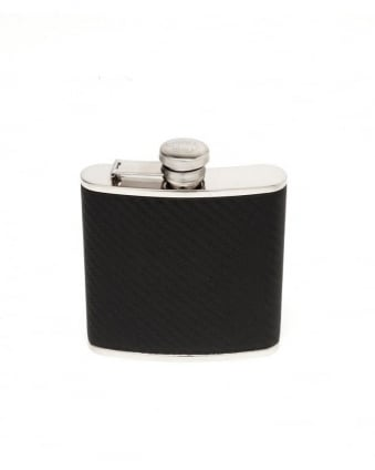 Black 'Walton' Hip Flask