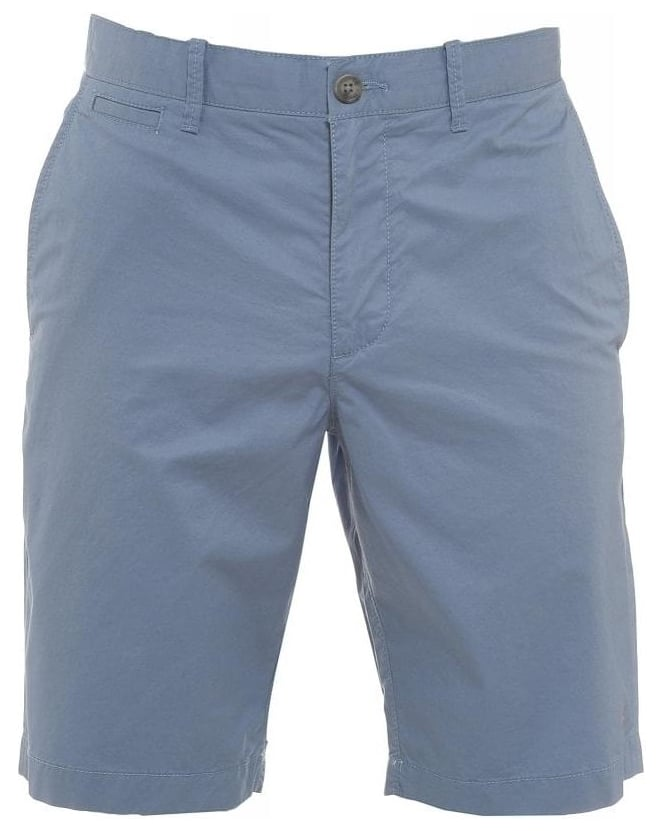 Original Penguin Sky Blue Basic Slim Fit Chino Shorts