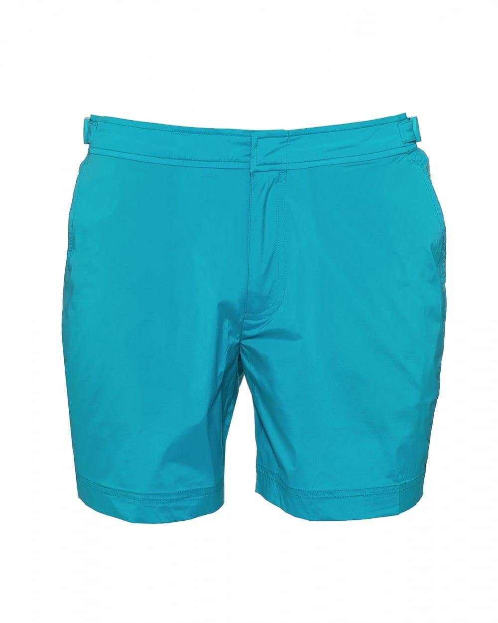 a715b6fc93 Orlebar Brown Mens Bulldog Sport Swim Shorts, Azure Blue ...