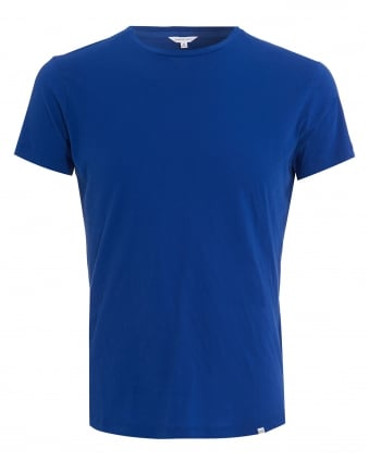 Mens OB-T Crew T-Shirt, Mazanine Royal Blue Tee