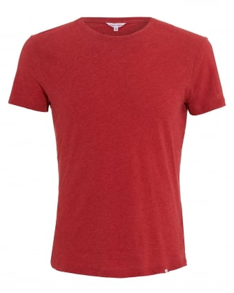 Mens OB-T Crew T-Shirt, Pomodore Red Tee