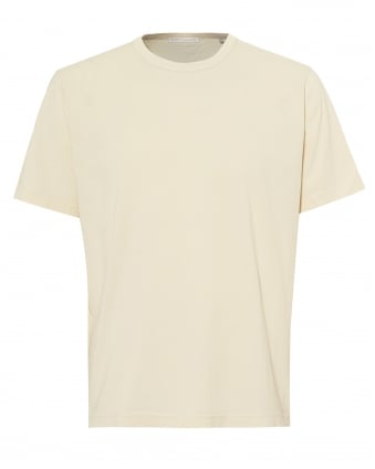 Mens New Box T-Shirt, Pearl White Tee