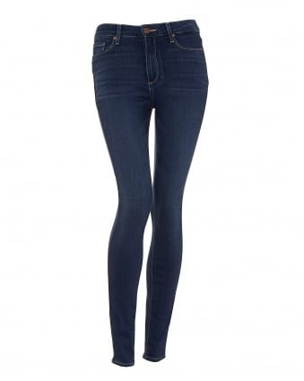 Womens Hoxton Jeans, Dalia Dark Mid Wash Denim