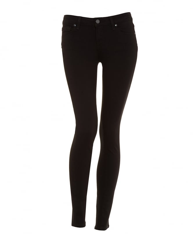 Paige Jeans Womens Verdugo Skinny Fit Jean, Black Shadow Transcend Denim
