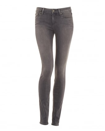 Womens Verdugo Skinny Fit Jean, Silvie Grey Transcend Denim