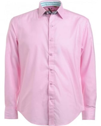 Pink Long Sleeve Torino Shirt