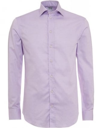 Plain Lilac Business Shirt