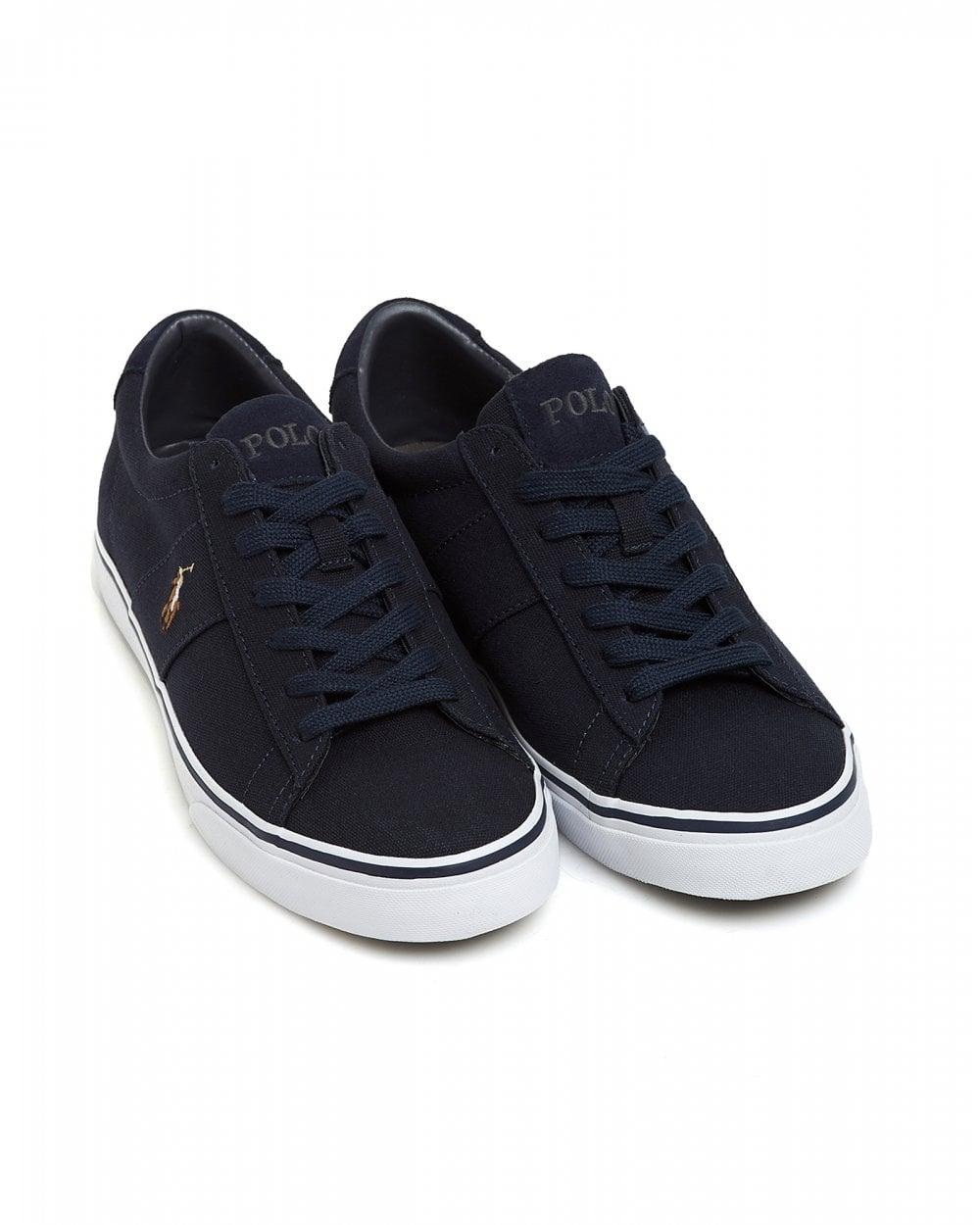 ralph lauren men's canvas shoes