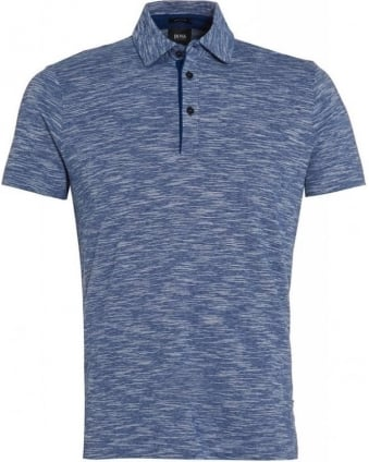 Polo Shirt, 'Rapino 58' Blue Marl Polo
