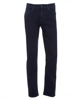 Mens Slimmy Jeans, Slim Fit Dark Rinse Denim