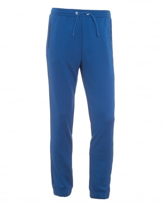 Mens Hadiko Tracksuit Bottoms, Monaco Blue Sweat Pants