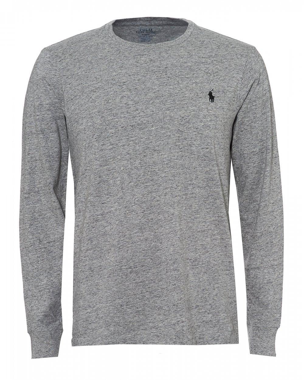 Ralph Lauren Mens Grey Long Sleeve T-Shirt b6dc7698e3ce