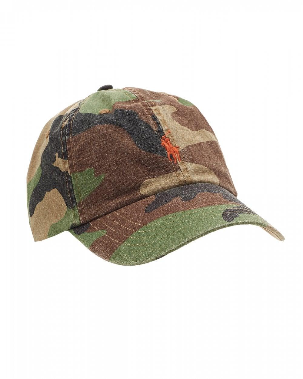 Ralph Lauren Mens Logo Baseball Cap b5998890751