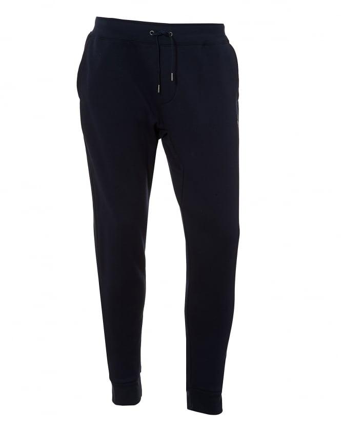 Repertoire Fashion Ralph Lauren Mens Navy Blue Trackpant, Drawstring Cuffed Sweatpants