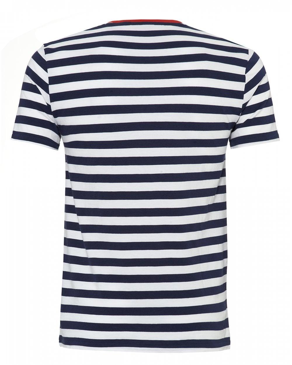 e3381430448d0 Ralph Lauren Mens Striped T-Shirt