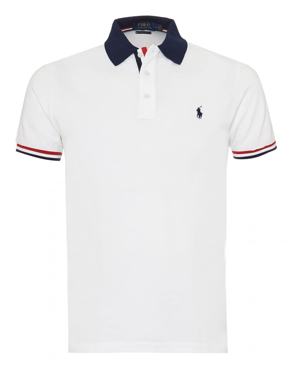 Ralph Lauren Mens Tipped Polo Shirt 5910c30e5553