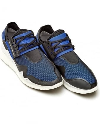 Retro Boost Mens Trainers Electric Blue Low-Top Sneaker