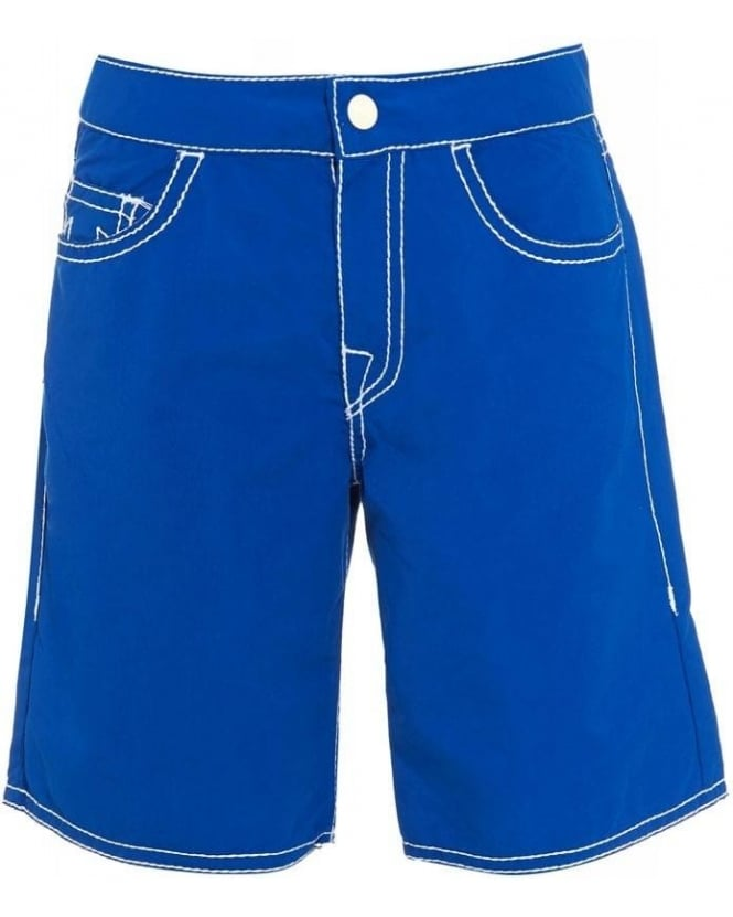 True Religion Jeans 'Ricky' Blue Board Shorts