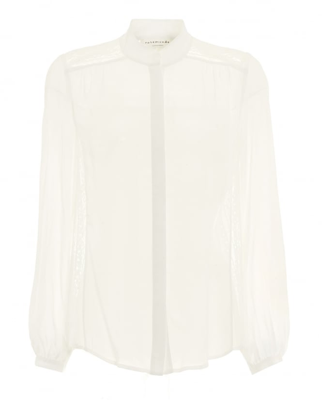 Rosemunde Womens Zara Ivory Long Sleeved Blouse