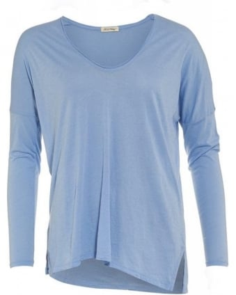 Sandy Cornflower Blue Top