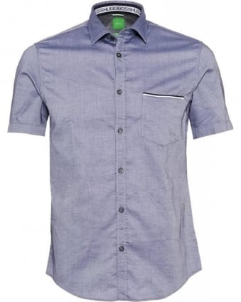Shirt Dark Blue 'Byolo' Regular Fit Shirt