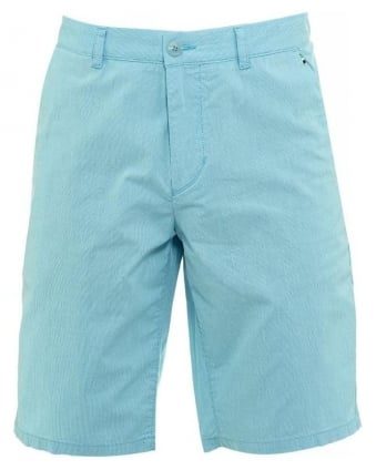 Shorts, Aqua Fine Stripe Slim Fit 'Lomeo-W' Shorts