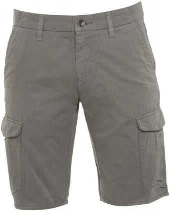 Shorts, Khaki Regular Fit 'Schwinn 3 Shorts-D' Cargo Shorts