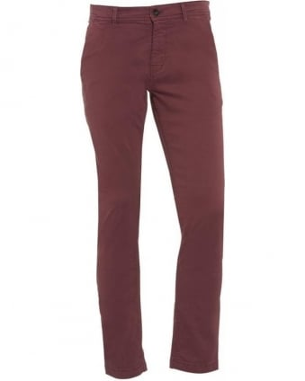 Slim Fit Chinos Pink 'Schino-Slim1-D' Trousers