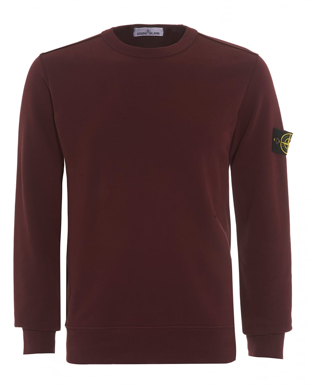 stone island mens crew neck sweatshirt garment dyed. Black Bedroom Furniture Sets. Home Design Ideas