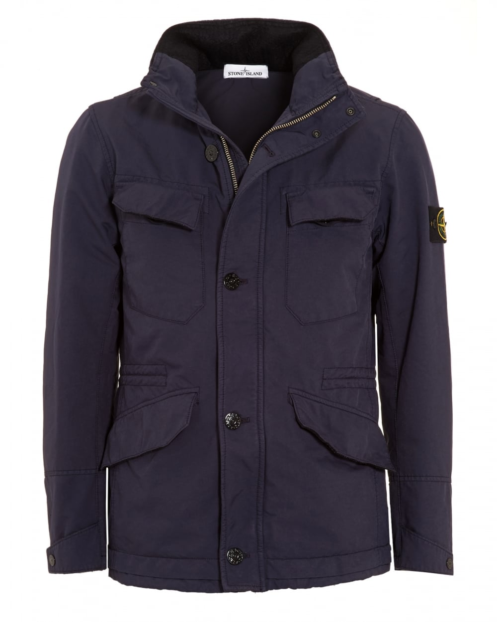 stone island mens david tc navy blue water repellent. Black Bedroom Furniture Sets. Home Design Ideas