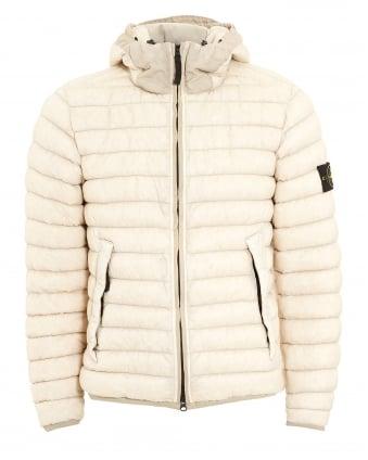 White Stone Island Puffa Jacket
