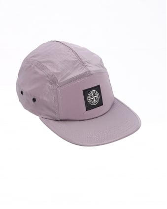 Mens Hat, Rosa Quarzo Badge Cap