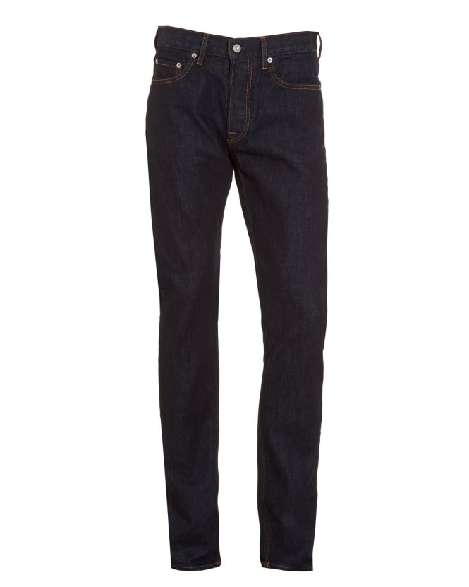 Stone Island Mens Jeans, Dark Wash Slim Fit Denim