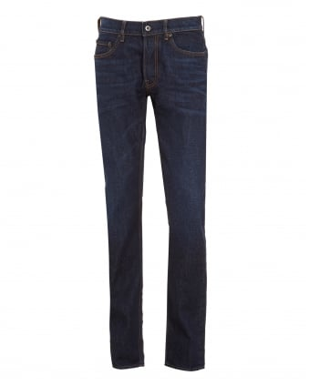 Mens Jeans, Slim Fit Blue Wash Denim