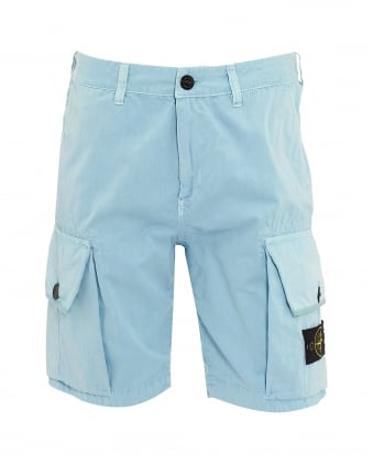 Mens T.CO+OLD Cielo Sky Blue Cargo Pocket Shorts